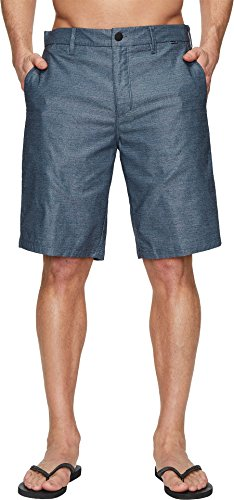 Hurley Men's Dri-Fit Breathe Walkshorts Obsidian 34W x 21L