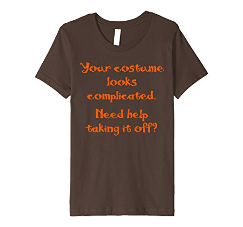 Halloween Pick Up Lines (Kids Halloween Pickup Line Funny Shirt Costume 10 Brown)