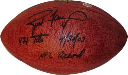 Official Brett Football Favre - Brett Favre Signed Inscribed Football-Official