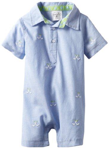 Baby Golf Golf Romper - Mud Pie Baby Boys' Golf Romper, Blue, 12 18 Months