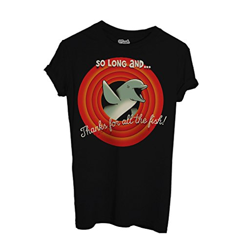 T-Shirt Hitchhiker'S Guide To The Galaxy Grazie Per Il Pesce - FILM by Mush Dress Your Style