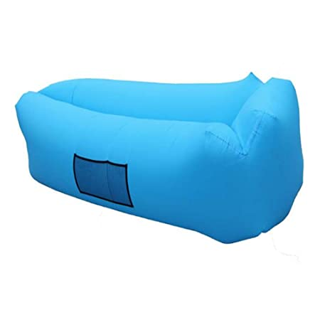 WXH Hamaca Hinchable Inflable con sofá de Aire, diseño a ...