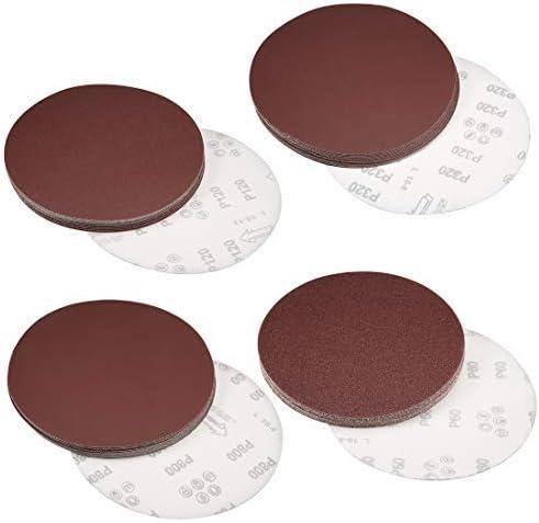 - 8-inch hook and loop sanding discs, 1200 grit aluminum oxide abrasive sandpaper 15 pieces