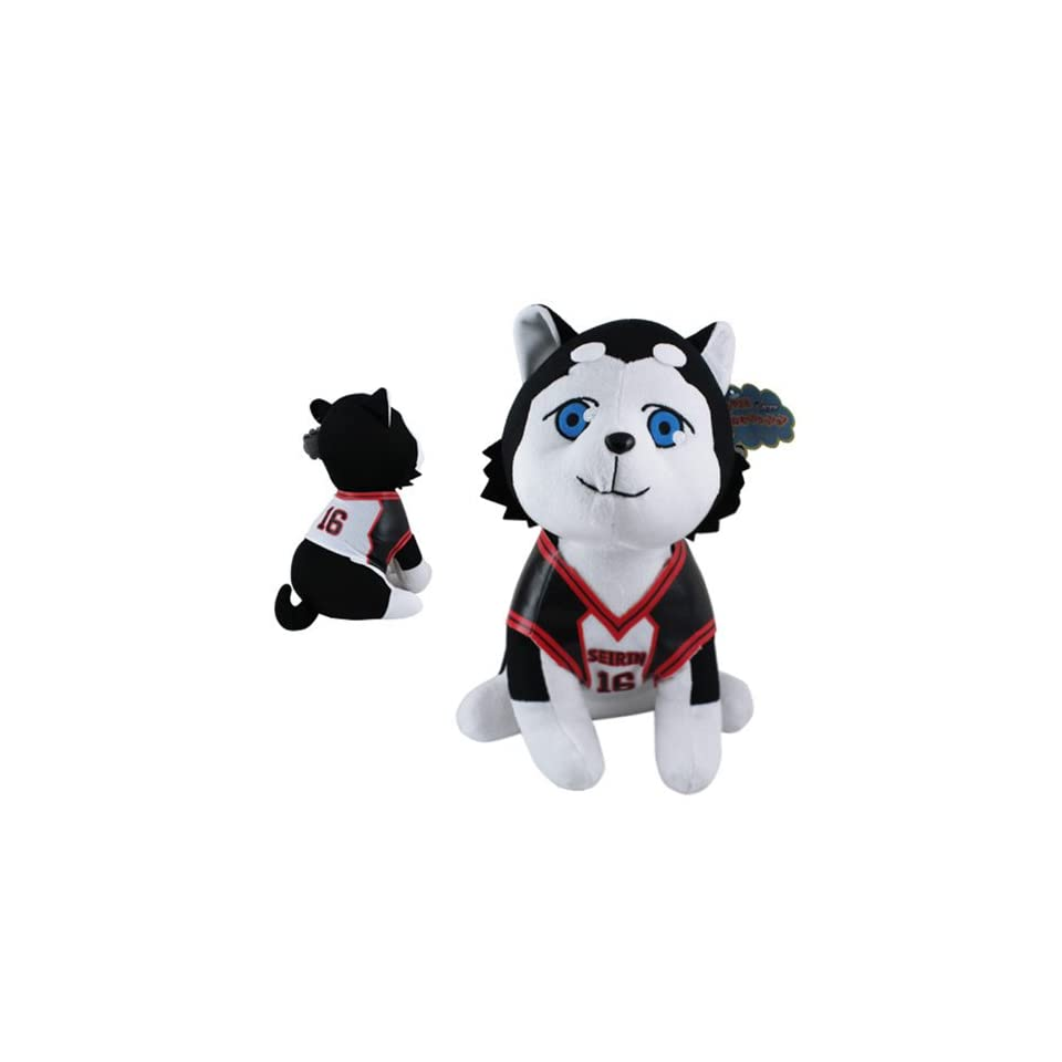 Cute  Kuroko No Basuke Tetsuya #2 SEIRIN 16 Dog 31cm Soft Plush Doll Toy
