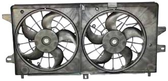 - TYC 621360 Chevrolet Replacement Radiator/Condenser Cooling Fan Assembly