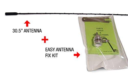 Antenna and Easy Antenna Fix for Chevy, GMC Trucks and Cadillac Escalade SUVs