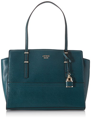 Guess Hwvg6421100, Borsa a Mano Donna, 15x22x32 cm (W x H x L) Verde (Forest)