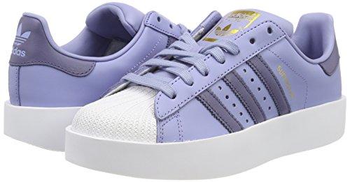 Bleu azutiz 000 Fitness W Bold Indnat De Chaussures Adidas Femme Superstar Ftwbla waRq41Z