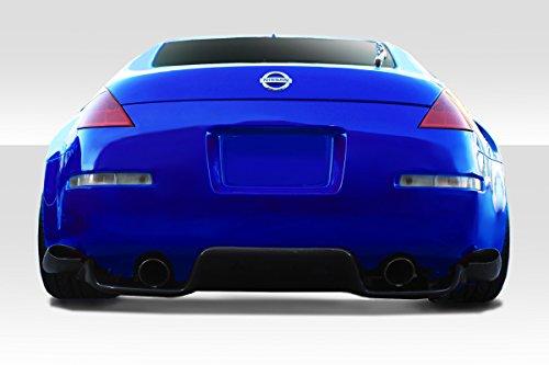 - Duraflex Replacement for 2003-2008 Nissan 350Z Z33 TS-1 Diffuser - 6 Piece