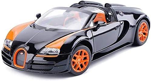 Zhangl 1,18シミュレーションの車のモデル合金ダイキャスト製のおもちゃの車のジュエリーセットジュエリー25x12x6.8cmカーモデルナイトライダーダイキャストモデル(カラー:ブラック) (Color : 黒)