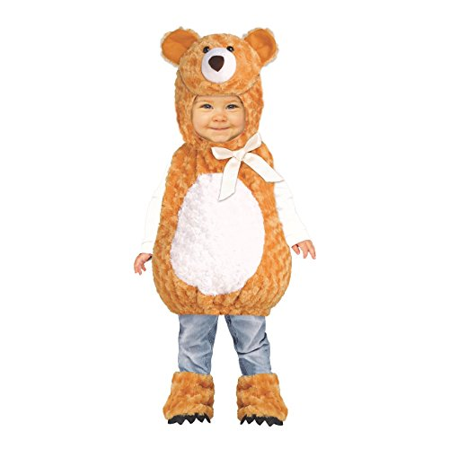 Teddy Bear Toddler Costume 2-4T
