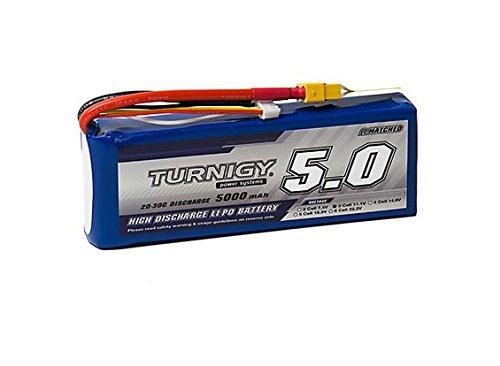 Turnigy 5000mAh 3S 20C Lipo Pack w/XT-60 (20c Lipo Pack)