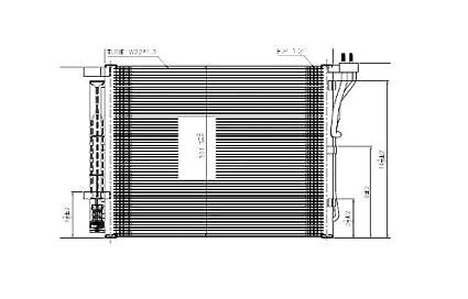 41avOvx5M4L._SX425_ amazon com hyundai sonata w turbo, 2 0l replacement ac condenser