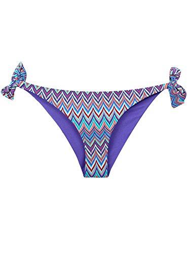 Motivo oodji Bikini Pezzo Ultra Donna Sotto 7341g Geometrico Turchese qwxwgavX