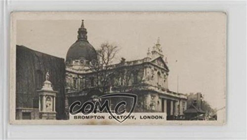Brompton Oratory, London Ungraded COMC Poor to Fair (Trading Card) 1926 Westminster British Royal and Ancient Buildings Series 2 - Tobacco [Base] #11