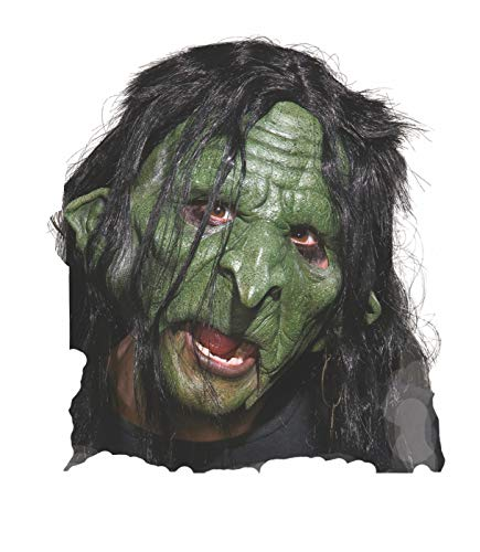 Rubie's Unisex-Adult's Standard Goblin Mask, Multicolor, One Size]()