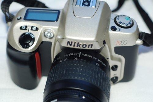 Nikon N60 with 28-80mm 1:3.3-5.6 G (Nikon Film)
