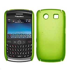 Amazon.com: Neon Green Rubberized Snap Slide On Back Cover