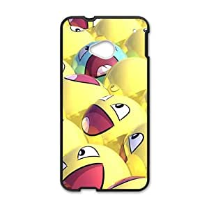 Funny Yellow Smile Fashion Personalized Phone Case For HTC M7 by runtopwellby Maris's Diary