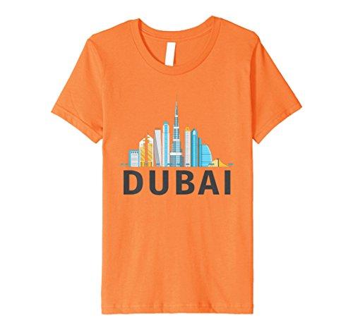 Kids Dubai Burj Khalifa - United Arab Emirates Premium T-Shirt 8 (United Premium T-shirt)