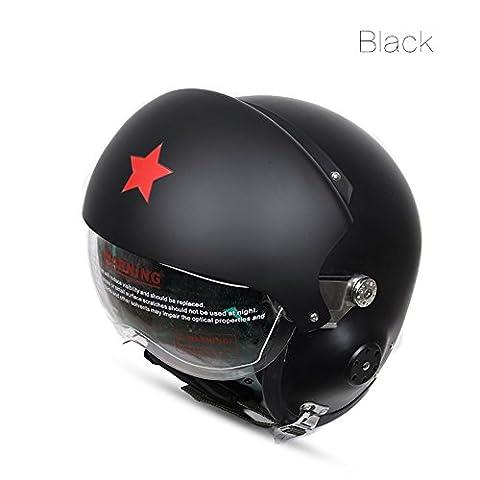 EDTara Safty Helmet Car Protective Gear Glass Fibre Reinforced Plastic Helmets for Pilot Motorcycle Electric Car Men and Women Dumb - Youth Hockey Goalie Catcher