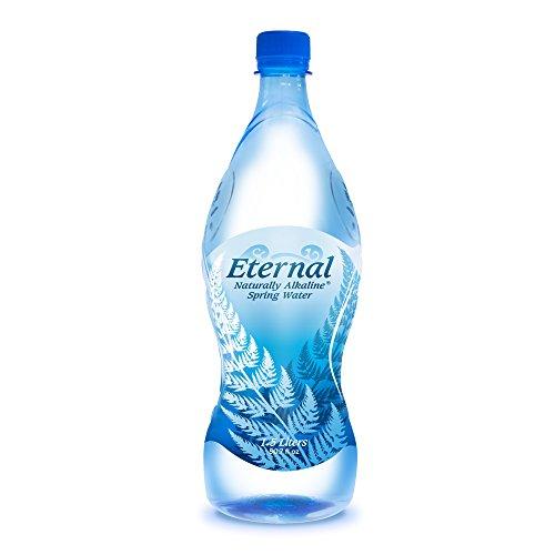 Eternal Water Naturally Alkaline Spring Water, 1.5 Litre, 12 Count