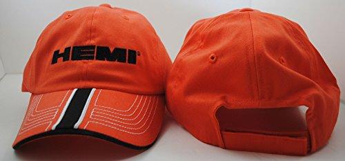 Hemi Orange Baseball Hat w/ BlackStitching by CFS
