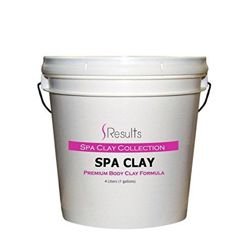 Spa Clay (Sea Clay) Body Wrap Formula - 1 gallon (4 liter) (Sea Wrap Clay Body)