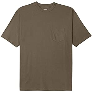 Pennant Big and Tall Beefy Jersey Pocket T-Shirt (Taupe 2X-T)