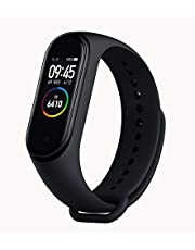 Xiaomi Mi Band 4 Smart Bracelet Fitness Tracker (Black) - 2019 New Version, Full Color Display