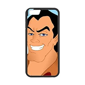 iPhone6 Plus 5.5 inch Phone Case Black Beauty and the Beast Gaston JHI2318494