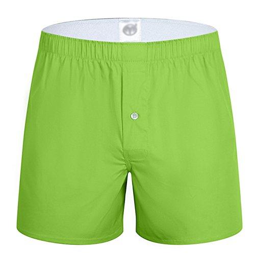 Yuanu Hombre Pantalones de Pijama Algodón Pantalones de Pijama Rayas Shorts Ropa de dormir 6js3y6s