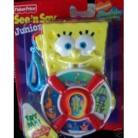 Amazon Com Fisher Price See N Say Junior With Spongebob