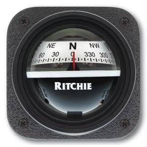 Ritchiesport Compass - Ritchiesport Compass Ritchie X-10W-M, Ritchiesport Bracket Mount Compass, White