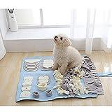 LOVEPET Multi-Size Washable Training Blanket Dog Nosework Blanket Snuffle Mat Dog Training Mats Feeding Pet Dog Pet Sniffing Mat