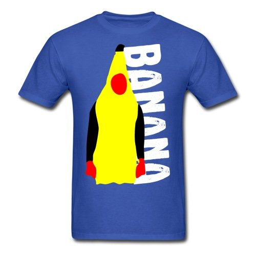 Spreadshirt Men's Onision Banana Suit T-Shirt, royal blue, S