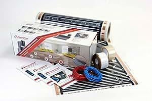 6m2 160w m2 kit de calefacci n por suelo radiante el ctrico por infrarrojos - Suelo radiante electrico precio m2 ...