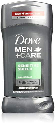 Deodorant: Dove Men+Care Antiperspirant & Deodorant Stick Sensitive Shield