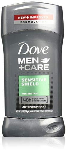 - Dove Men+Care Antiperspirant Stick, Sensitive Shield, 2.7 Ounce (Pack of 4)