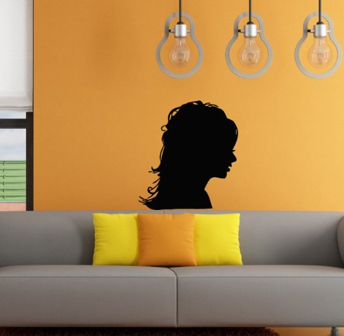 Wall Vinyl Decal Sticker Art Design Girl Hairstyles Beauty Saloon Room Nice Picture Decor Hall Wall (Saloon Girl Hairstyles)