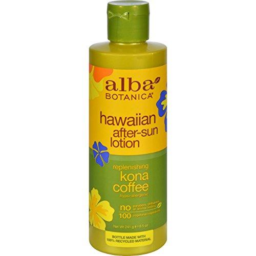 Alba Botanica After Sun Ltn Kona Coffee 8.5 Fz
