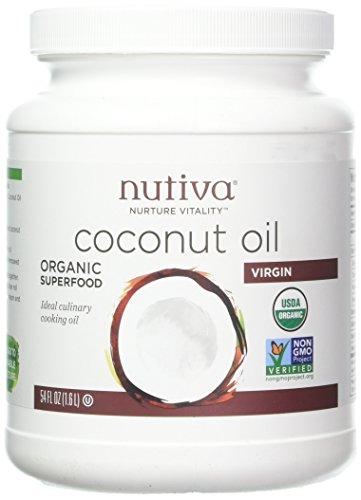 Price comparison product image NUTIVA COCONUT OIL, OG2, VIRGIN (54 fl. oz)