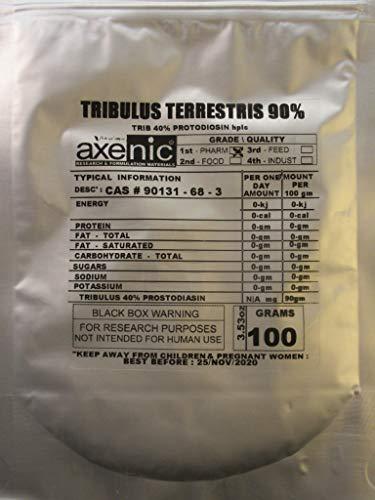 (AXENIC 20 Grams TRIBULUS TERRESTRIS 90% Saponin, 50% protodiosin HPLC)