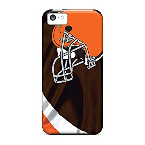 Slim Fit Tpu Protector Shock Absorbent Bumper Cleveland Browns Cases For Iphone 5c