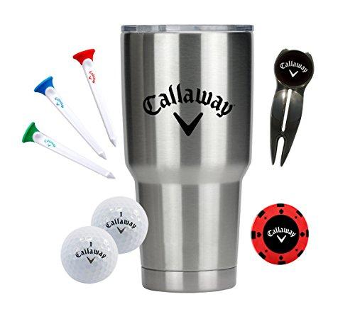 Divot Gift Set - Callaway 30 oz Tumbler Gift Set