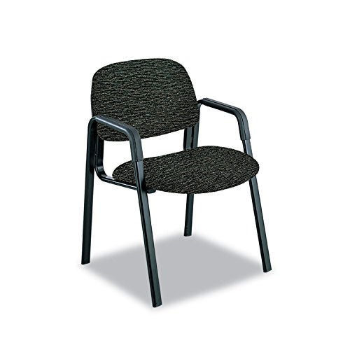 Safco Products Cava Collection (Cava Urth Collection Straight Leg Guest Chair, Black By: Safco)