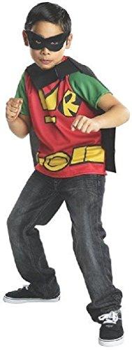 Fancy Rubies Teen Titans Go Robin Costume (Little Red Riding Hood Halloween Costume Teenager)