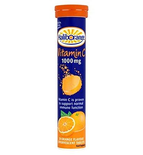 Haliborange Vitamin C 1000Mg Effervescent Tablets - 20 - Pack of 2 (Vitamin Haliborange)