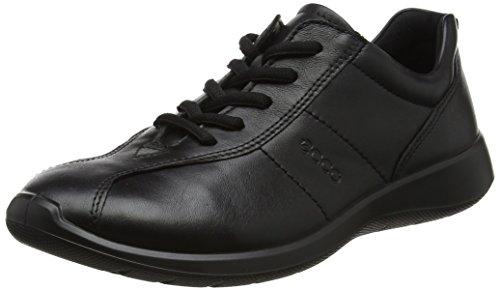 Ecco Black 5 Soft Schwarz Damen Derbys O6wxrqOF