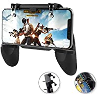 SaleOn™ 2 in 1 PUBG Mobile Game Controller and Mobile Gamepad Holder Handle Joystick Triggers L1 R1 Shoot Aim Button(Black)